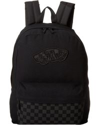Vans Black Realm Backpack - Lyst