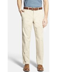 Bobby Jones Stretch Cotton Pants - Lyst