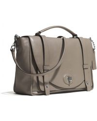 Coach Bleecker Brooklyn Messenger in Leather - Lyst
