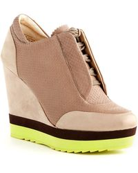 Boutique 9 - Wykoff Wedge Sneakers - Lyst