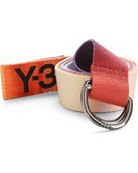 Y-3 Graphic Belt - Lyst