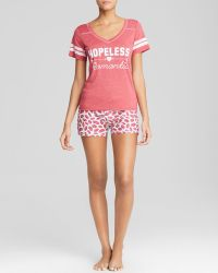 Honeydew Tees Me Hopeless Romantic Boxer Set - Lyst