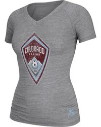 Adidas Womens Colorado Rapids Supersize Tshirt - Lyst