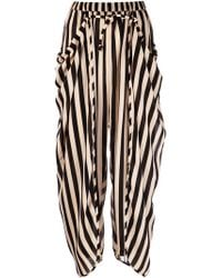 Henrik Vibskov Striped Pants - Lyst