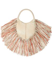Barbara Bonner - Small Lilith Leather Bag With Fringes - Lyst