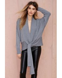 Nasty Gal Tangled Up Cardigan - Lyst