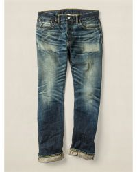 RRL Low Straight Brooks Jean - Lyst