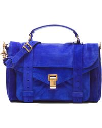 Proenza Schouler Medium Ps1 Suede - Lyst