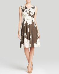 Lafayette 148 New York Junette Floral Print Dress - Lyst