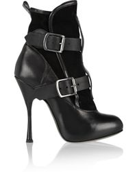 Vivienne Westwood Leather Ankle Boots - Lyst