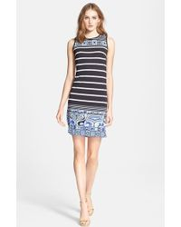 Emilio Pucci Nautical Print Sleeveless Dress - Lyst
