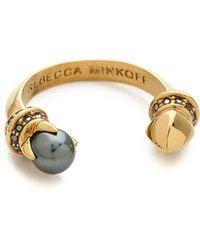 Rebecca Minkoff - Rebecca Minkoff - Gold/Jet - Lyst