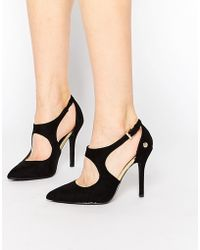 Blink - Cut Out Heeled Shoes - Lyst
