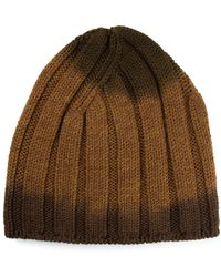 Bottega Veneta Ribbed Knit Beanie - Lyst