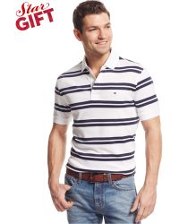 Tommy Hilfiger Theo Classic-Fit Polo - Lyst