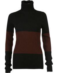 Fendi | Colour Block Sweater | Lyst