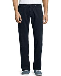Ag Adriano Goldschmied Protege Straight-leg Corduroy Pants - Lyst