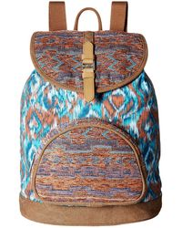 TOMS - Departure Ikat Mix Backpack - Lyst
