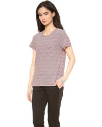 The Lady & The Sailor - Striped Boy Tee - Lyst