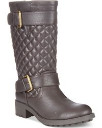 Rampage Ichibad Quilted Tall Boots - Lyst