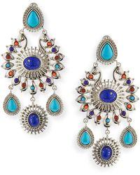 R.j. Graziano - Global Chandelier Earrings - Lyst