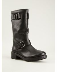 Tory Burch Buckled Boots - Lyst