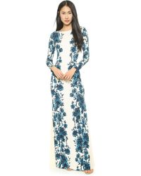 Tory Burch Stacy Gown  Sandshell Geneva - Lyst