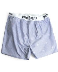 Palm Angels | Blue Briefs | Lyst