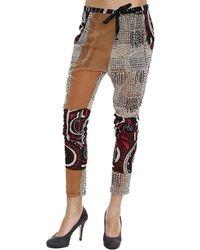 Manila Grace Trouser Woman - Lyst