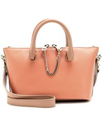 Chloé Baylee Mini Leather Tote - Lyst