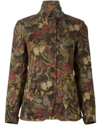 Valentino Butterfly Print Jacket - Lyst