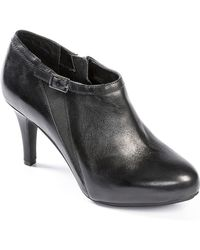 Me Too - Meade Vachetta Leather Booties - Lyst