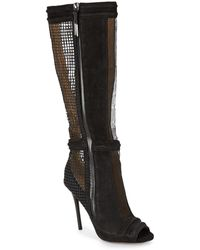 L.A.M.B. - Sparrow Meshpanel Boot - Lyst