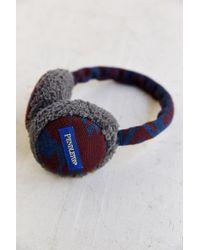 Pendleton X Uo Fleece Lined Earmuffs - Lyst