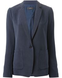 Joseph Single Button Blazer - Lyst
