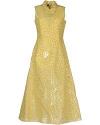 Rochas Long Dress - Lyst
