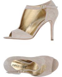 Enrico Lugani - Highheeled Sandals - Lyst