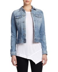AG Adriano Goldschmied Robyn Denim Jacket - Lyst