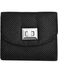 La Regale Mesh Minibag - Lyst