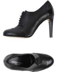 Pierre Darre' Lace-Up Shoes black - Lyst