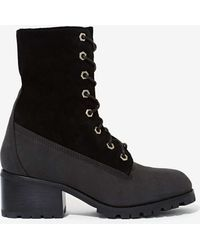 Nasty Gal Jeffrey Campbell Whistler Weatherproof Boot - Lyst
