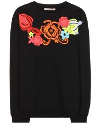 Christopher Kane Cotton Sweater - Lyst