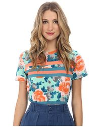 Marc By Marc Jacobs Jerrie Rose Patchwork Tee - Lyst