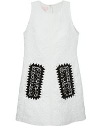 Giambattista Valli Sleeveless Jacquard Dress - Lyst