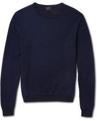 Jil Sander Wool-Blend Sweater - Lyst