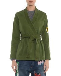 Marc By Marc Jacobs Karate-style Wrap-front Jacket - Lyst
