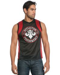 Affliction Napalm Mesh Jersey Tank Top - Lyst