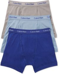 Calvin Klein Mens Cotton Stretch Boxer Briefs 3pack - Lyst