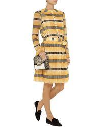Temperley London Bacall Pleated Chiffon Dress - Lyst