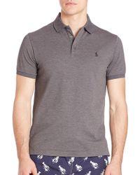 Polo Ralph Lauren   Pima Cotton Polo Shirt   Lyst